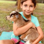 Goat Yoga is also a great way to get kids interested in fitness.