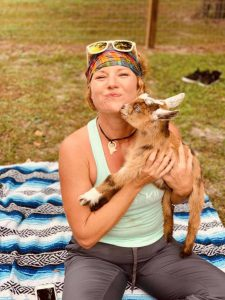 Goat Yoga brings an element of surprise and laughter into meditation.